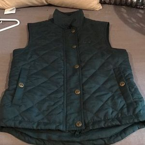 Jackets & Blazers - Hunter green riding vest